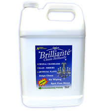 brilliante chandelier crystal cleaner brilliante gallon refill