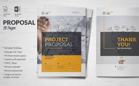 It Project Proposal Template Free Download 35 Business Proposal Template Word Docs Download Business