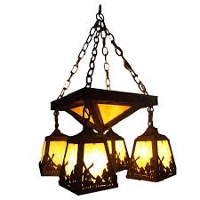 american arts and crafts windmill chandelier for at 1stdibs intended inspirations 10