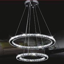 uk new modern led crystal chandelier pendant lamp