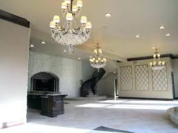 replace chandelier charming can light chandelier and how to replace a can light with a chandelier