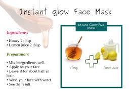 Homemade facial for glowing skin