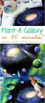 anyone can paint a galaxy in 30 minutes with these fun techniques a
