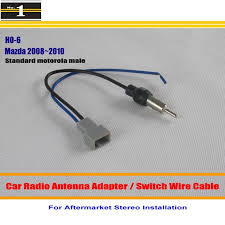 popular car radio wire buy cheap car radio wire lots from for mazda 3 mazda 6 car radio antenna adapter aftermarket stereo antenna wire