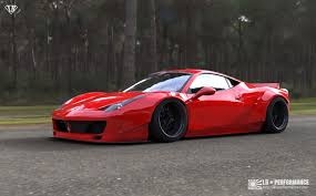 ferrari italia widebody.