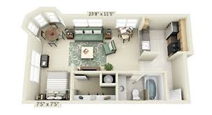 Interior Design For Studio Apartment Plans
