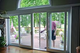 double pane patio door