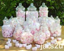 19 Plastic Jars Kids Party Kit Sweet Shop Wedding/Candy Buffet - Birthday  Pary