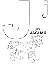 Small Picture J coloring pages