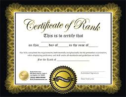martial arts certificate template martial arts certificate template martial arts certificate maker