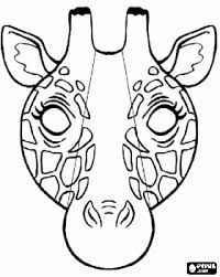 Small Picture Giraffe mask coloring page Lots of coloring pages here
