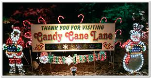 Candy Cane Lane Decorations About Candy Cane Lane West Allis Wisconsin 9
