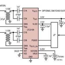 basic wiring diagram for the ltc3109 [5] download scientific diagram basic wiring diagram home ac basic wiring diagram for the ltc3109 [5]