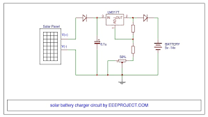 solar battery charger circuit with voltage regulator 24 volt solar panel wiring diagram Solar Cell Wiring Diagram #48