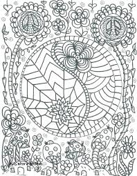 hippie flower coloring pages hippie coloring pages images coloring