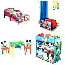 toddler bed set mickey mouse clubhouse 4 piece toddle mickey