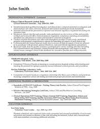 ... Clinical Research Associate Resume Sample with regard to ucwords]