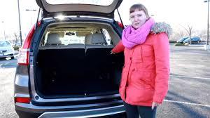2015 Honda CR-V Top Feature: Rear Cargo Area - YouTube
