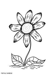 Disegni Di Margherite Da Stampare E Colorare Gratis Portale Bambini