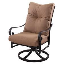 swivel rocker patio chair repair rocking furniture outdoor