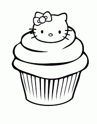Small Picture Cupcake Coloring Page Coloring Home
