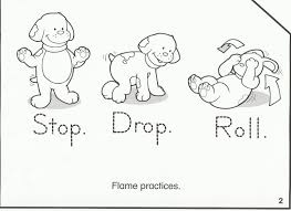 Fire Prevention Coloring Pages Download And
