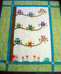 Vicki's Fabric Creations: Owl Quilt Finished & The Quiltery Owl Quilt Adamdwight.com