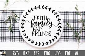 Download icons in all formats or edit them for your designs. 1 Faith Family And Friends Svg File Designs Graphics