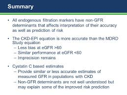 summary all endogenous filtration markers have non gfr determinants that affects interpretation of their accuracy