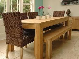 Wood Dining Room Solid Wood Dining Room Table With Bench Style - Solid wood dining room tables