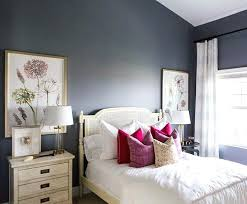Blue Bedroom Paint We Love How All The Whites And Creams Really Pop Against  This Slate . Blue Bedroom Paint ...