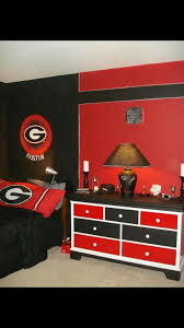 Georgia Bulldog Bedroom Ideas