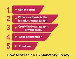 informative or explanatory essay definition how to write  how to write an explanatory essay
