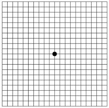 Types Of Amsler Grid Chart Amsler Grid Eye Test Brightfocus Foundation