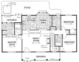 Small Picture Simple Home Plans And Designs Houses On Floor With Simple Ranch