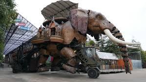 낭트의 기계 섬, 술탄의 코끼리에 오르다!