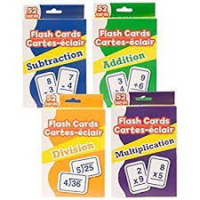 Amazon Com Greenbrier Math Flash Cards Toys Games