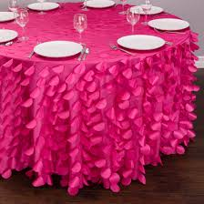 tablecloths hot pink tablecloth whole wedding party linens with overlays and our entire inventory is