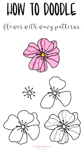 If you are an animal lover, you can try out doodle arts for animals. 15 Simple Bullet Journal Flower Doodles Masha Plans