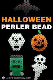 Halloween Perler Bead Patterns Fascinating 48 Halloween Perler Bead Pattern Ideas