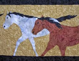 Roberta's Custom Quilting: Horse Applique Quilt & Here are some pictures of the computerized quilting on the traditional  blocks. Computerized meaning that some of the quilting is done using a  pattern, ... Adamdwight.com