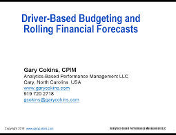 Driver Based Budgeting And Rolling Financial Forecasts