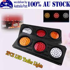 Led Tray Lights 2x 12v Led Stop Tail Light Reverse Indicator Lamp With Tray