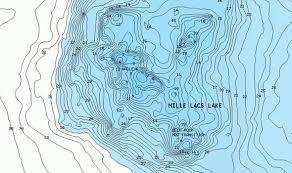Lake Contour Maps Map 2018