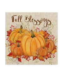 Trademark Global Jean Plout 'Fall Blessings' Canvas Art - 14