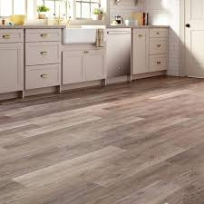 brushed oak taupe luxury vinyl plank flooring 24 sq ft case
