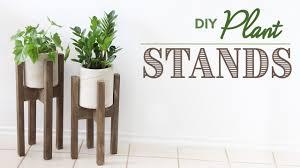 DIY Plant Stands - Sostenedor de plantas