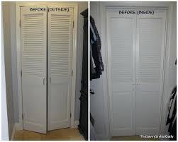 how to remove closet doors mirrored closet door makeover