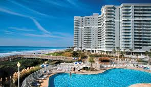 there are tons of room types to choose from at this double towered myrtle beach resort pools hot tubore plete the experience