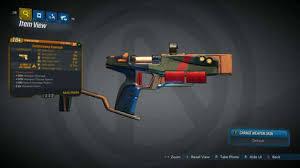 Borderlands 3 Damage Chart Borderlands 3s Best Legendary Rare Very Rare Guns All